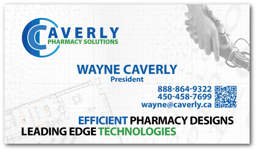wayne caverly business card